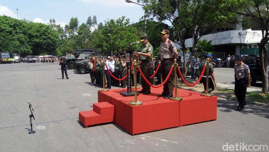 Pangdam dan Kapolda Cek Pasukan Pengamanan Pernikahan Kahiyang