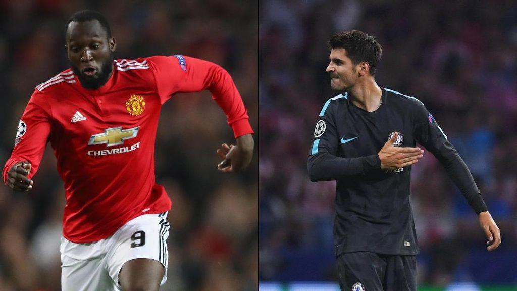 Morata vs Lukaku: Siapa Buka Puasa Gol Lebih Dulu?