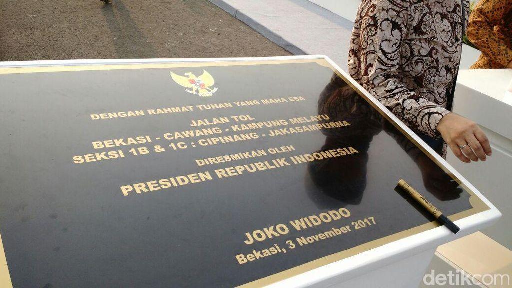 Diresmikan Jokowi, Ini Jalur Tol Becakayu yang Bakal Beroperasi