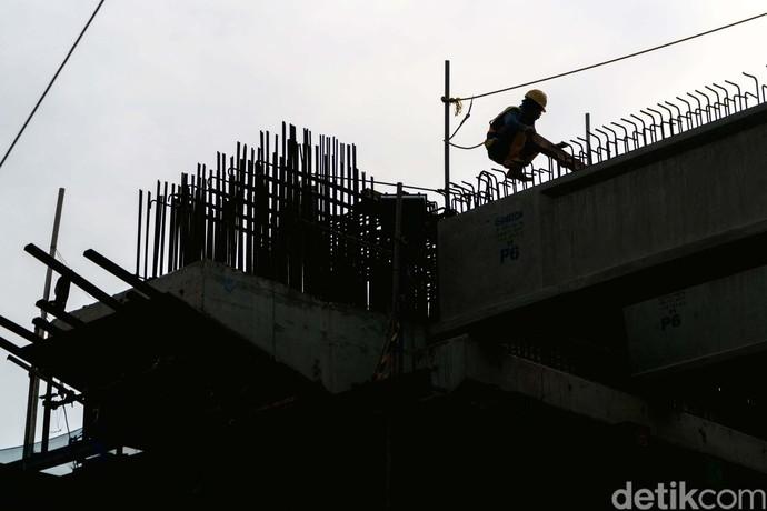 Kondisi Terkini Proyek LRT Kelapa Gading-Velodrome