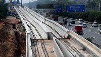 Pembangunan LRT Jabodebek Tahap II Dimulai 2019