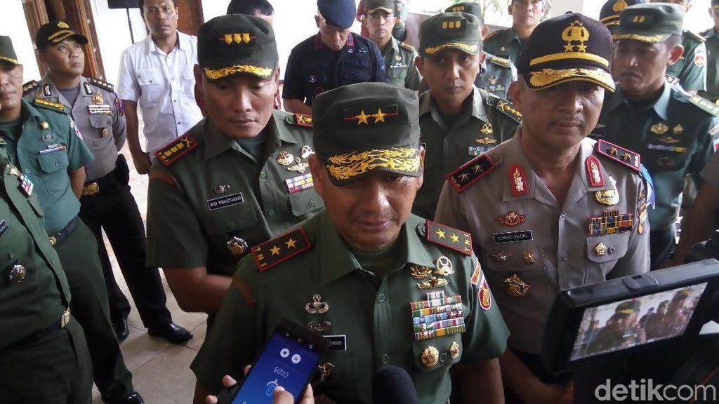 Pangdam dan Kapolda Jateng Periksa Gedung Pernikahan Kahiyang di Solo
