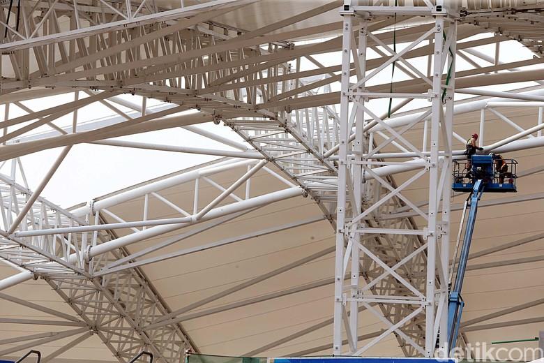 Melihat Perkembangan Perombakan Velodrome Rawamangun