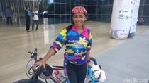 Ini Darna, Wanita Tangguh dari Makassar yang Gowes Sepeda Sabang-Jakarta