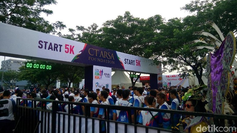 Ini Pemenang Kategori Race CT ARSA FOUNDATION Charity Fun Run