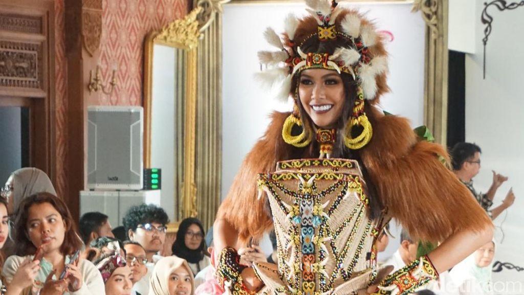 Netizen Ramai Dukung Bunga Jelitha Menangkan Miss Universe 2017