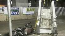Beton Proyek MRT Jatuh, Polda Metro Jaya Turun Tangan