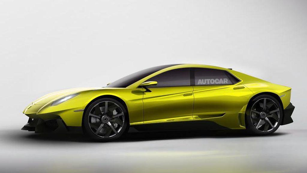 Lamborghini Siapkan Sedan Sport 4 Pintu