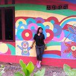 Foto: Kampung Pelangi yang Cantik di Jawa Tengah