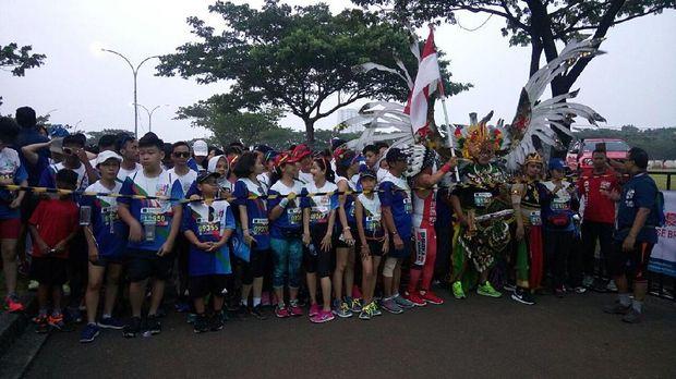 Ribuan Peserta Meriahkan CT ARSA FOUNDATION Charity Fun Run