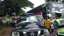 Polisi Copot Paksa Rotator yang Terjaring Operasi Zebra