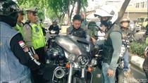 Harley Davidson yang Masuk Jalur Cepat dan Tak Ada STNK Ditahan