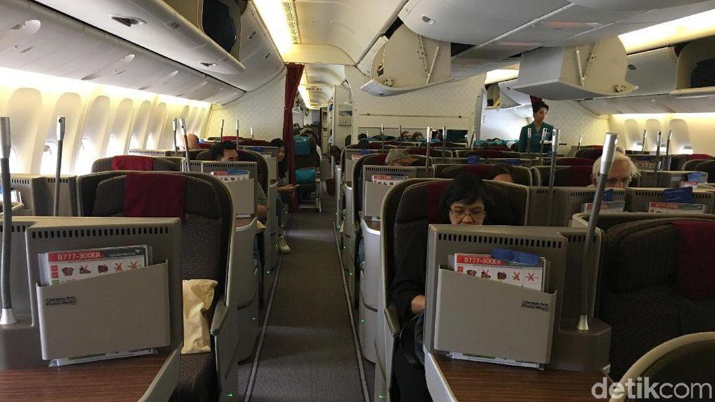 Asyiknya Menjajal Terbang Jakarta-London Nonstop dengan Garuda