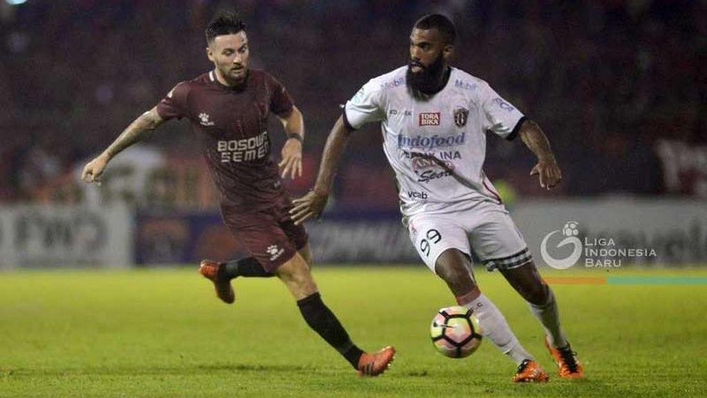 Bali United Kembali ke Puncak Klasemen Usai Tekuk PSM 1-0