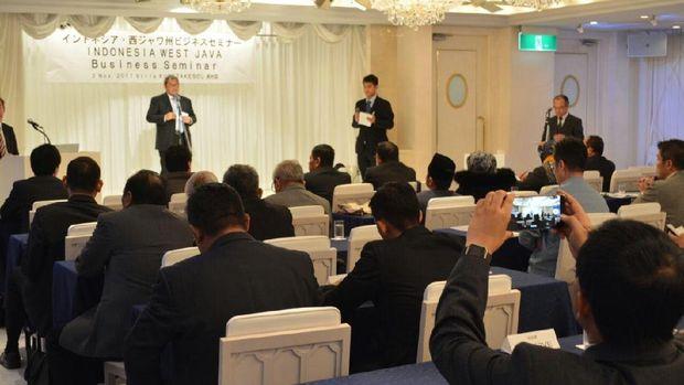 Pamer BIJB di Jepang, Aher Tawarkan Peluang Bisnis dan Investasi