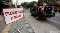 Jelang Pernikahan Kahiyang, Dilarang Parkir di Sekitar Graha Saba Buana