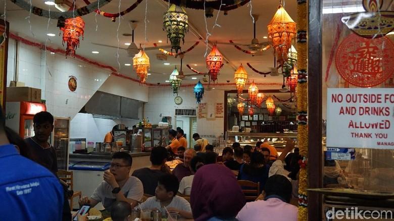 Suasana di Restoran Sri Nirwana Maju Kuala Lumpur (Masaul/detikTravel)