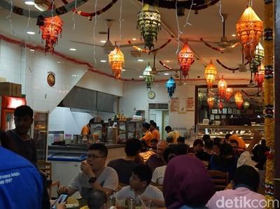Wisata Kuliner India di Kuala Lumpur Serasa Nasi Kapau