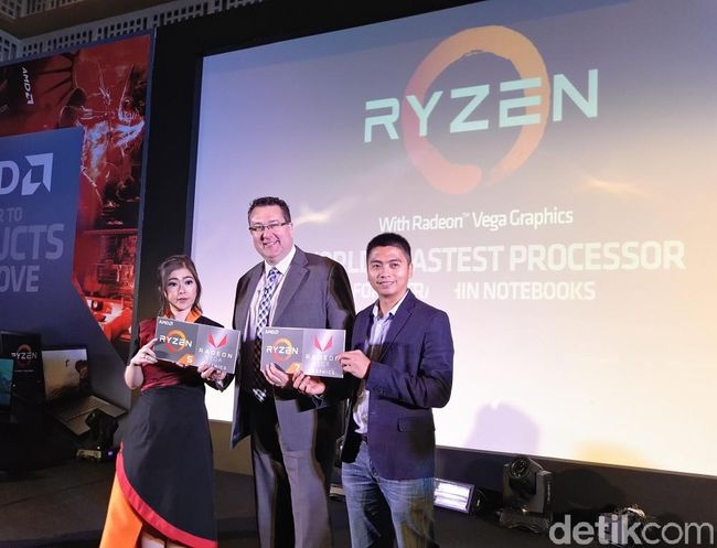 AMD Rilis Prosesor Laptop Ultrathin Terkencang