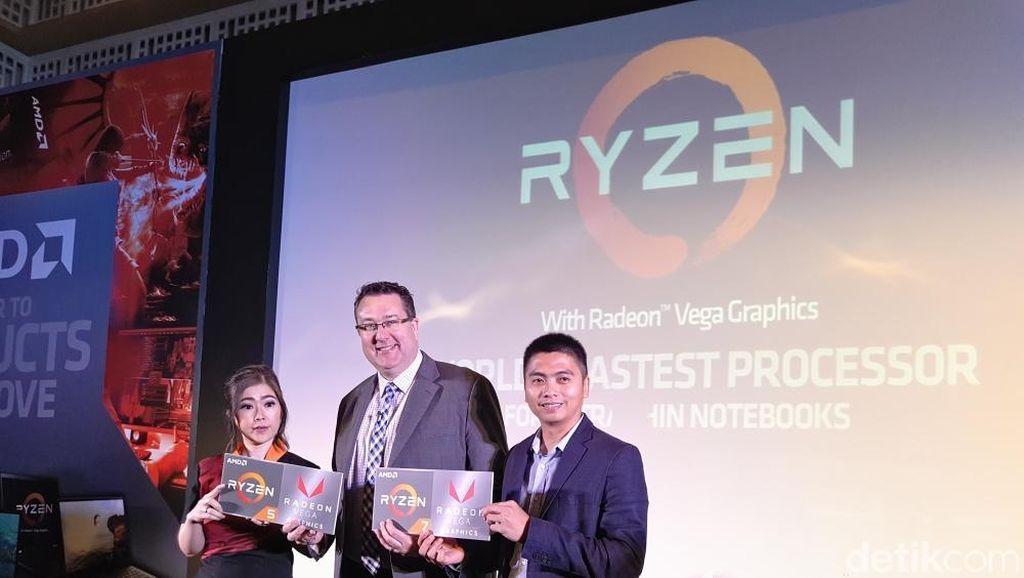 AMD Rilis Prosesor Laptop Ultrathin Terkencang