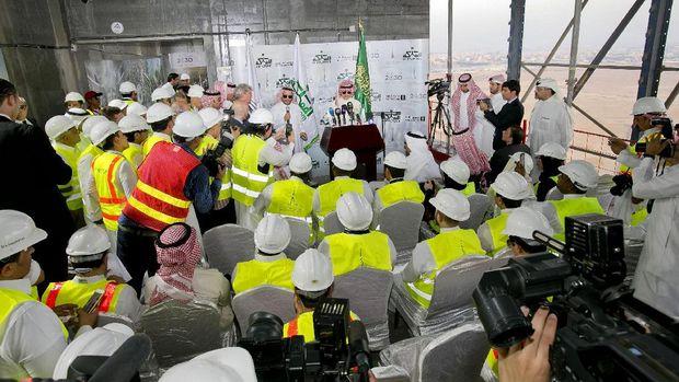 Alwaleed Diciduk 'KPK Saudi', Bagaimana Nasib Menara 1 Km?