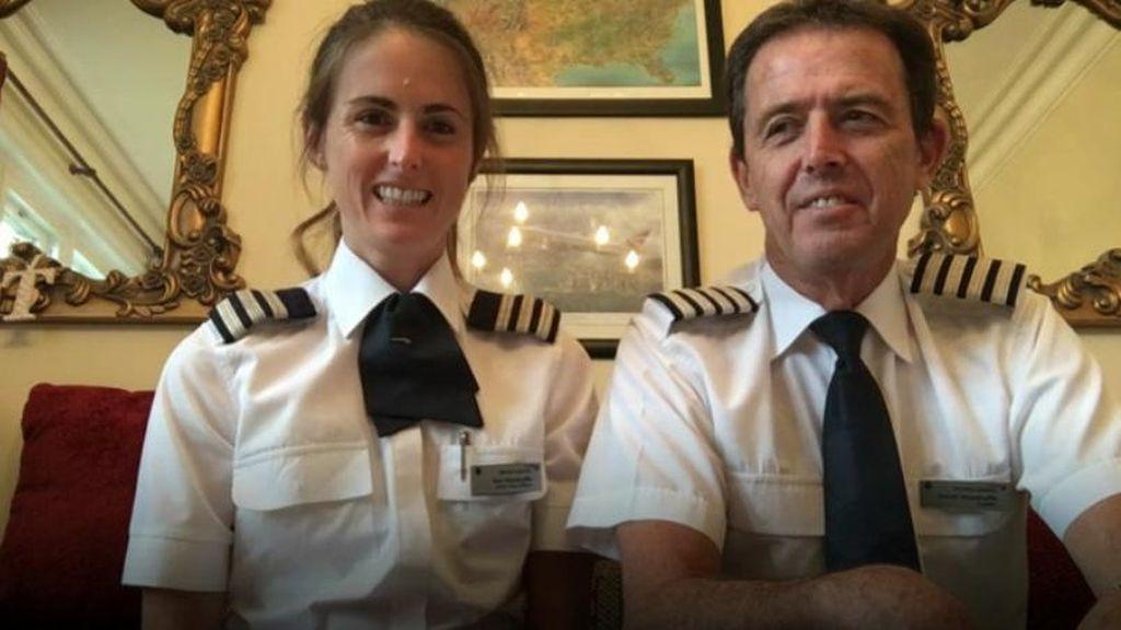Cerita Haru Penerbangan Terakhir Ayah Bersama Putrinya Sebagai Pilot