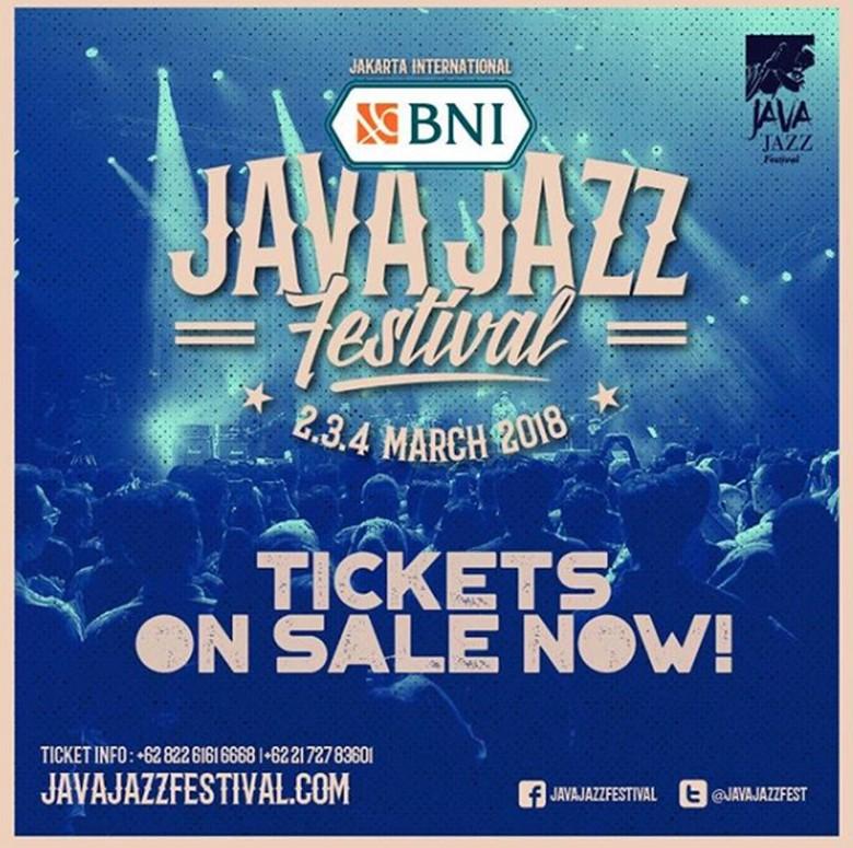 Tahun Depan, Java Jazz Digelar 2 sampai 4 Maret