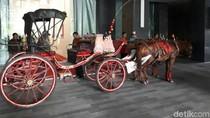 Simulasi Kirab Pernikahan Kahiyang Digelar Lagi, 4 Kereta Kuda Bersiap