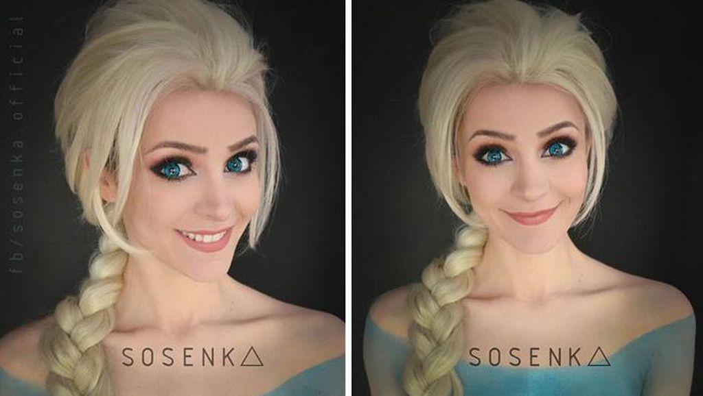 Cosplayer Cantik Ini Mirip Bunglon, Bisa Jadi Apa Saja
