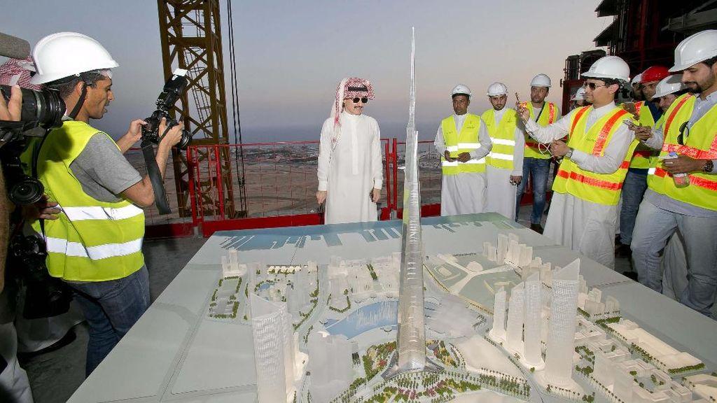Ini Calon Menara Tertinggi Dunia Buatan Pangeran Alwaleed