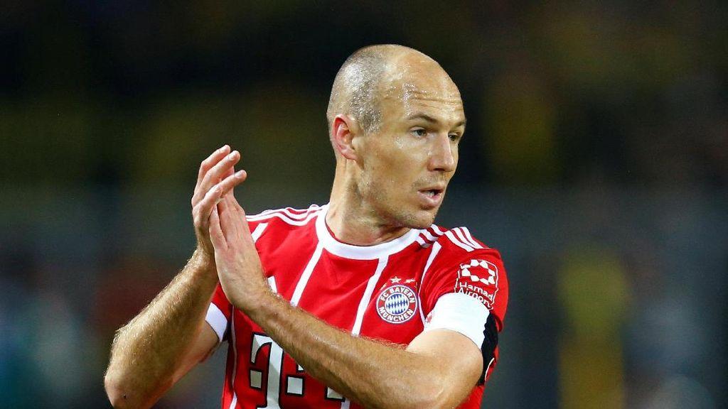 Robben Santai soal Kontrak Baru