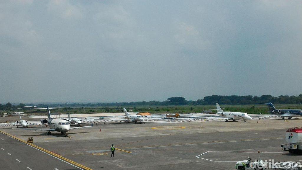 11 Pesawat Carter Mendarat di Bandara Solo Saat Pernikahan Kahiyang
