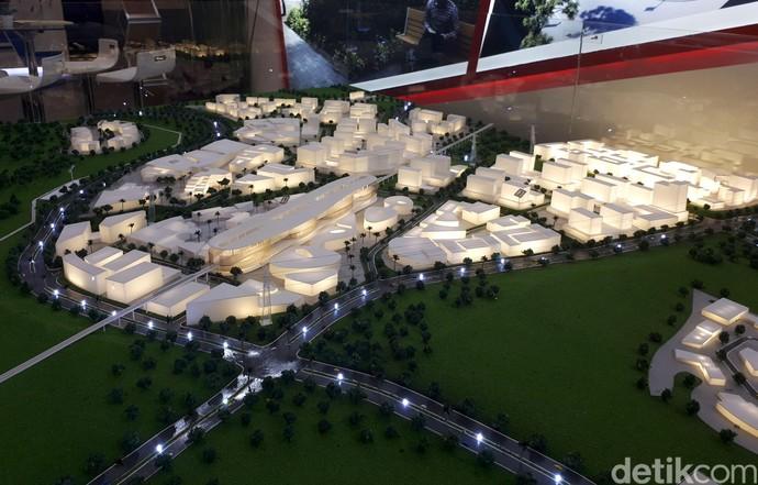 Bakal Ada Hotel dan Pusat Bisnis di Stasiun Kereta Cepat Walini