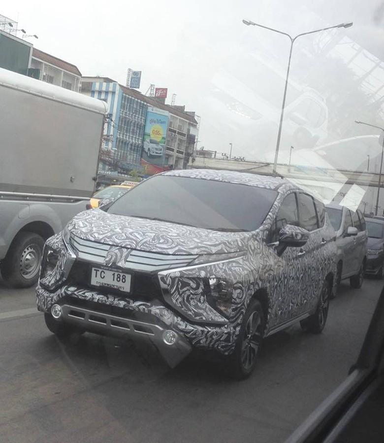 Mitsubishi Xpander Buatan Cikarang Sedang Dites di Thailand