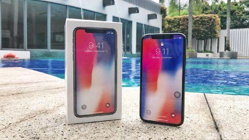iPhone X Tiba di Indonesia
