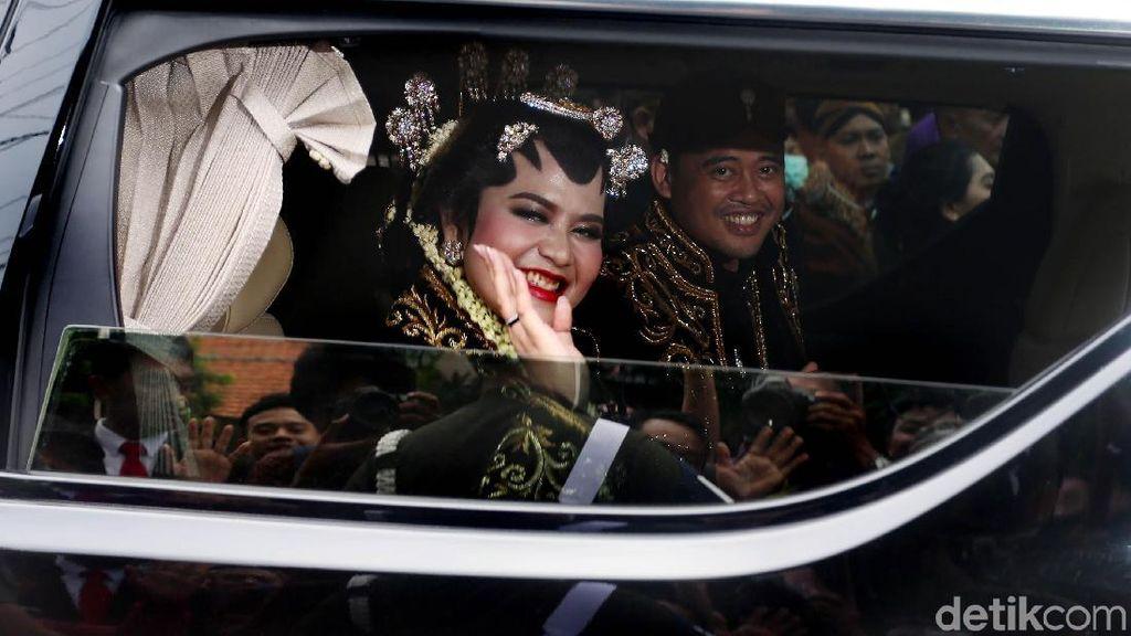 Akad-Resepsi Usai, Bobby Menantu Jokowi: Capek tapi Senang