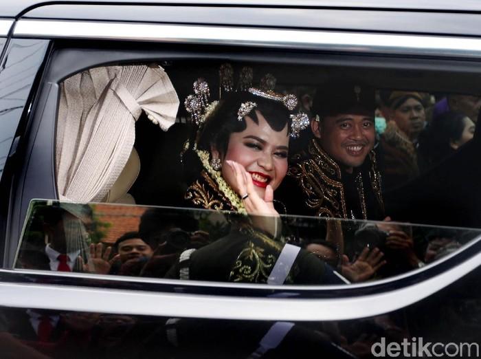 Kahiyang dan Bobby Nasution sudah dimintai cucu oleh besan Jokowi, Ade. Foto: Rengga Sancaya