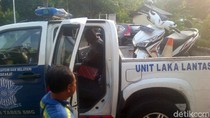 2 Pemotor Tewas Kecelakaan dengan Truk di Semarang