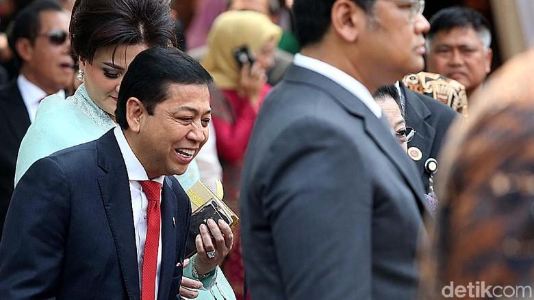Surat Absen Novanto ke KPK, Tembusan hingga Presiden Jokowi