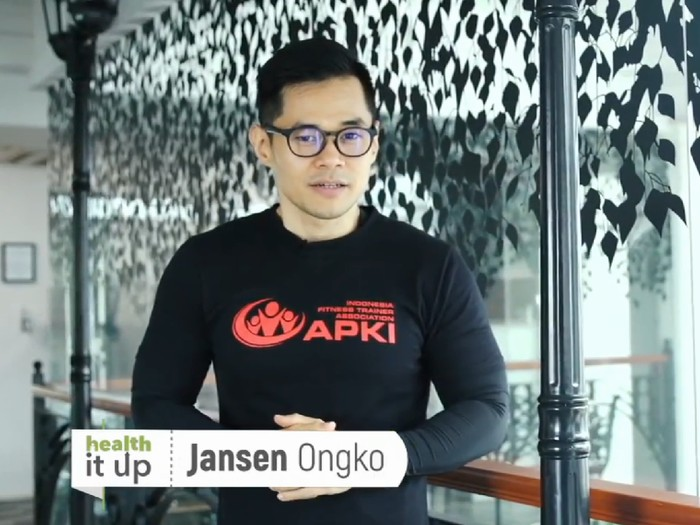 Kepergian sang ayah karena sakit diabetes membuat Jansen Ongko hidup sehat/Foto: 20detik