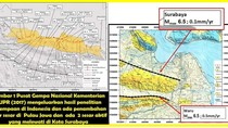 Surabaya Dilewati 2 Patahan Aktif, Berpotensi Gempa Darat 6,5 SR