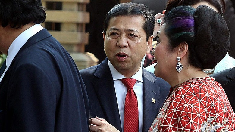 Pengacara Minta Presiden dan Polisi-TNI Lindungi Novanto