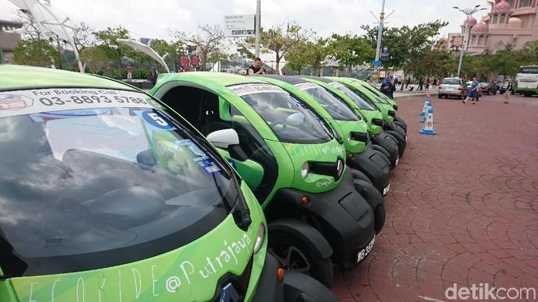 Mobil listrik di Putrajaya (Masaul/detikTravel)