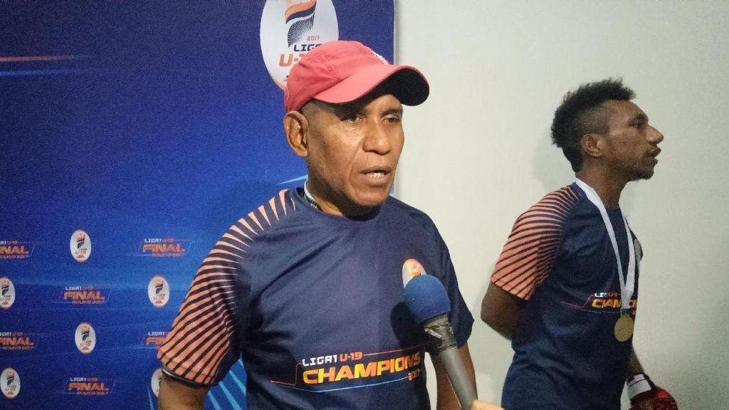 Persipura Sindir Indra Sjafri Usai Jadi Juara Liga 1 U-19