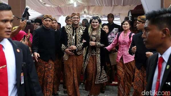 Pernikahan Kahiyang-Bobby di Medan: Potong Kerbau, Mangulosi, Resepsi