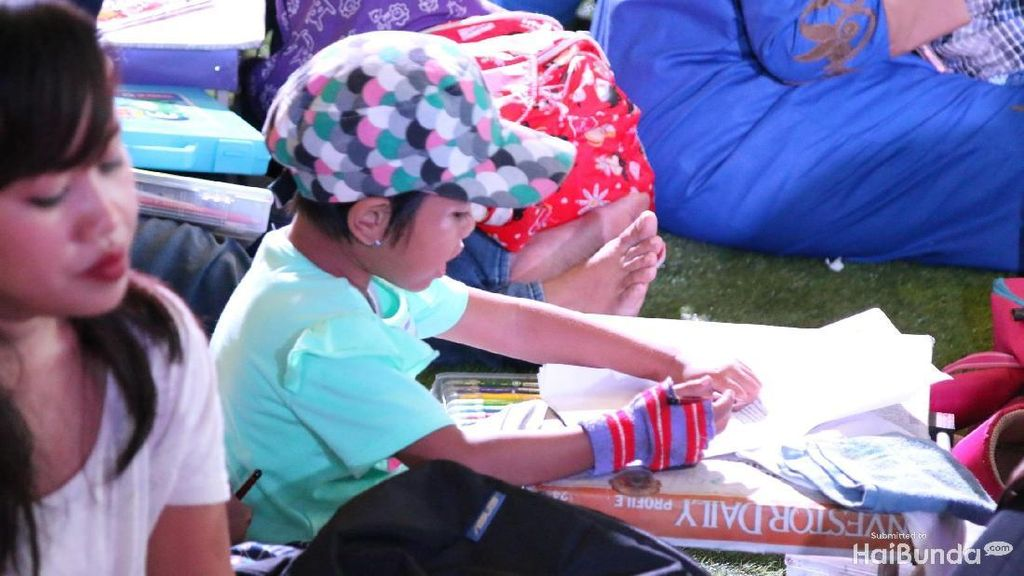Gerakan Ini Membantu Anak-anak untuk Lebih Mengenal Seni
