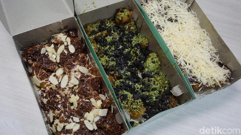 Bananugget: Mencicip Pisang Nugget Bertopping Tiramisu Almond dan Matcha Oreo