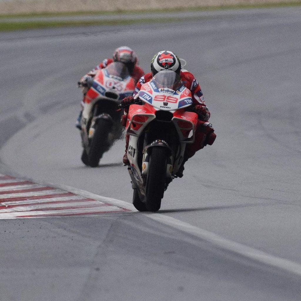 Ducati Yakin Persaingan Dovi dan Lorenzo Takkan Berbuntut Konflik