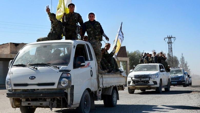 Umumkan PM Perang Lawan ISIS - Jakarta Menteri Haider menyatakan pasukan militernya telah menguasai seluruh wilayah perbatasan Irak dan Abadi mengatakan negaranya telah menang