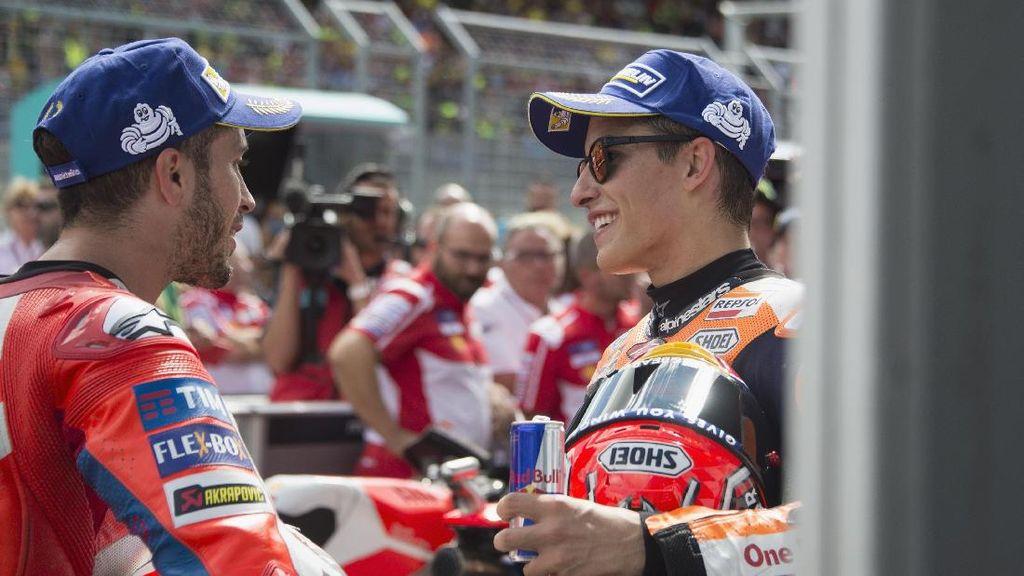 Final Marquez vs Dovizioso, Tonton Live Streaming MotoGP Valencia di detikSport
